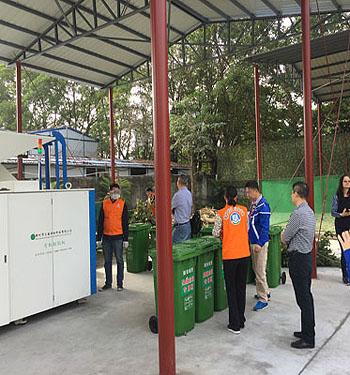 绿化垃圾chu理设备助力yuan林绿化垃圾变废weibao更高效